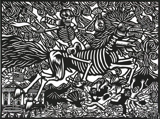 Mexican artist artemio rodriguez woodcuts etching redefine magazine