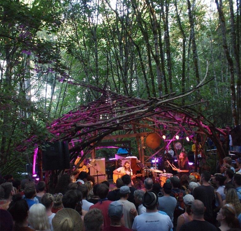 Pickathon Festival 2013 Live Show Review - Ty Segall, Parquet Courts