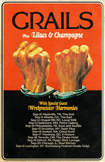 Grails - Lilacs & Champagne Poster