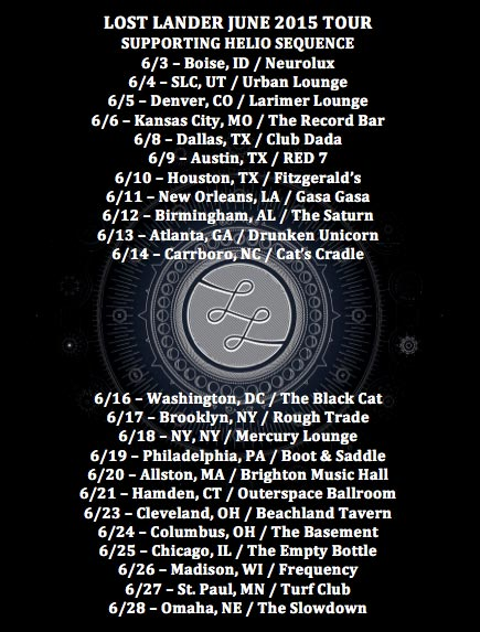 Lost Lander Tour Dates