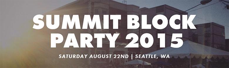 Summit Block Party 2015 Seattle
