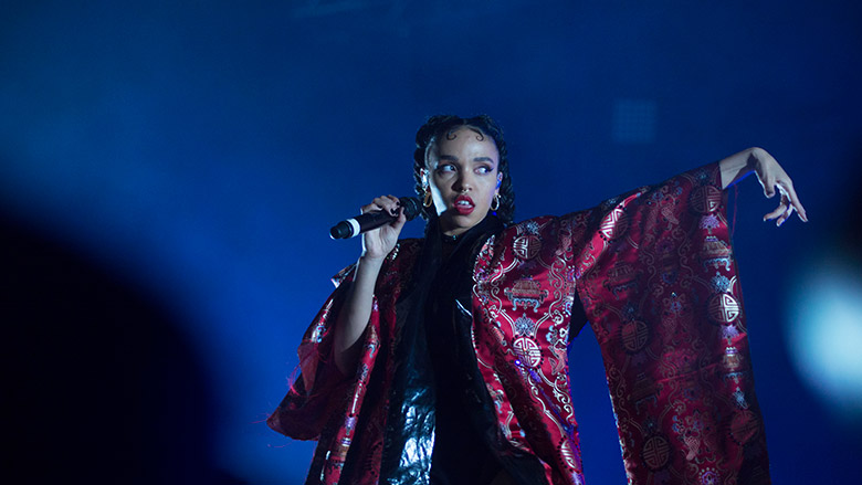 FKA Twigs at FYF Fest