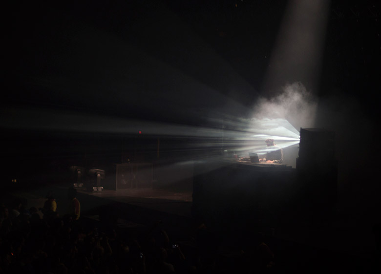Nicolas Jaar at FYF Fest
