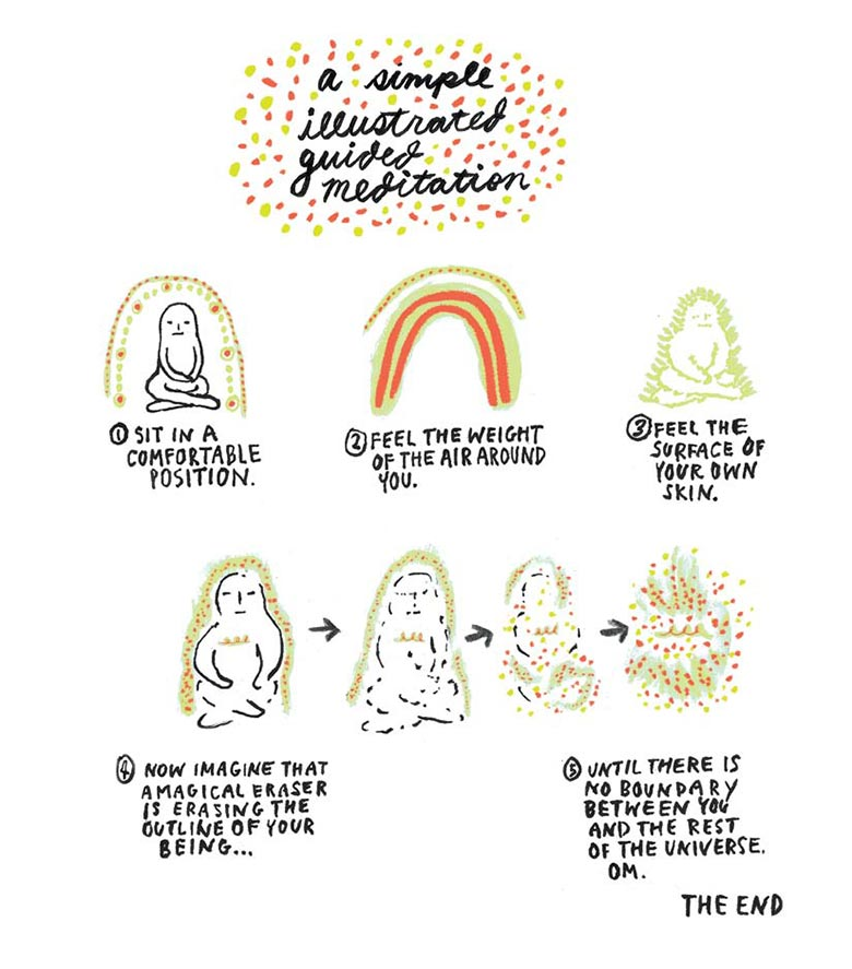 Yumi Sakugawa - Illustrated Guide to the Universe
