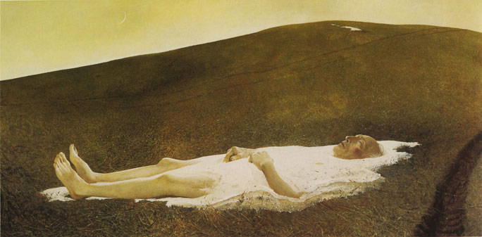 Andrew Wyeth - Spring