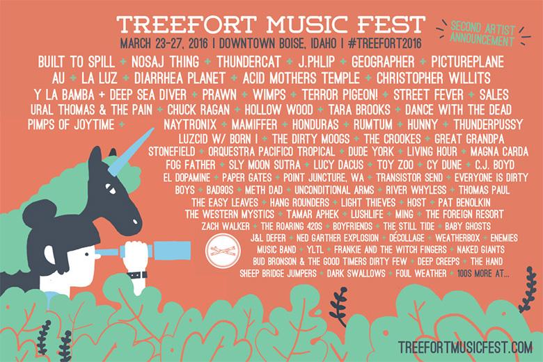 Treefort Music Fest 2016 Lineup