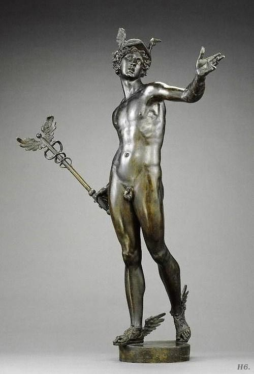 Hermes - Mercury. Johan Van der Schardt. Dutch. 1530-1581. Getty Museum