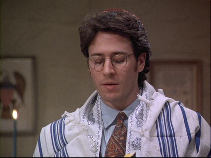 Joel says Kaddish