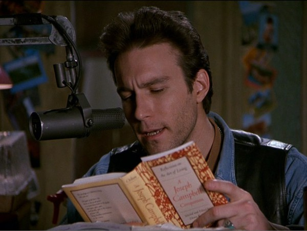 Chris in the Morning reads Joseph Campbell